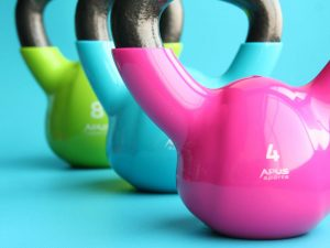 Colored Kettle Bells